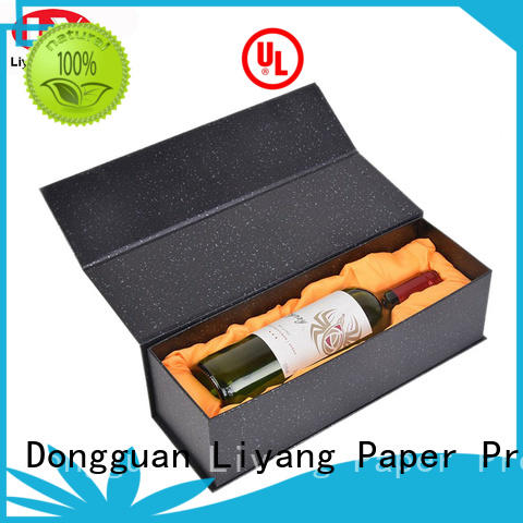 wine packing boxes cardboard gift foam Liyang Paper Packaging Brand company