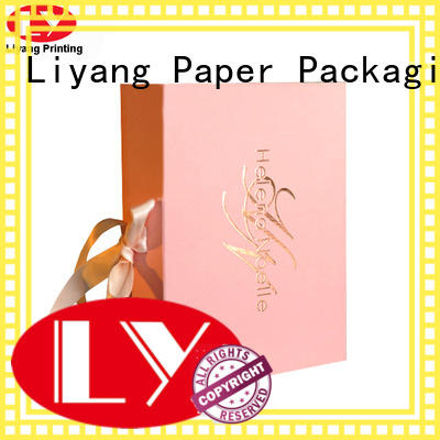 Liyang Paper Packaging cardboard cosmetic paper box for wholesale for makeup