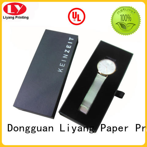 Quality Liyang Paper Packaging Brand soft cardboard jewelry boxes