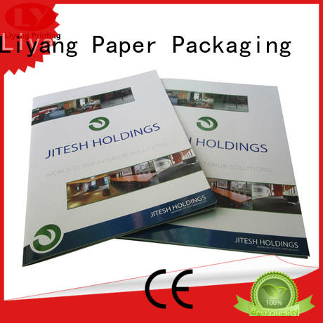 Liyang Paper Packaging Brand printing pockets catalog presentation folders printing manufacture