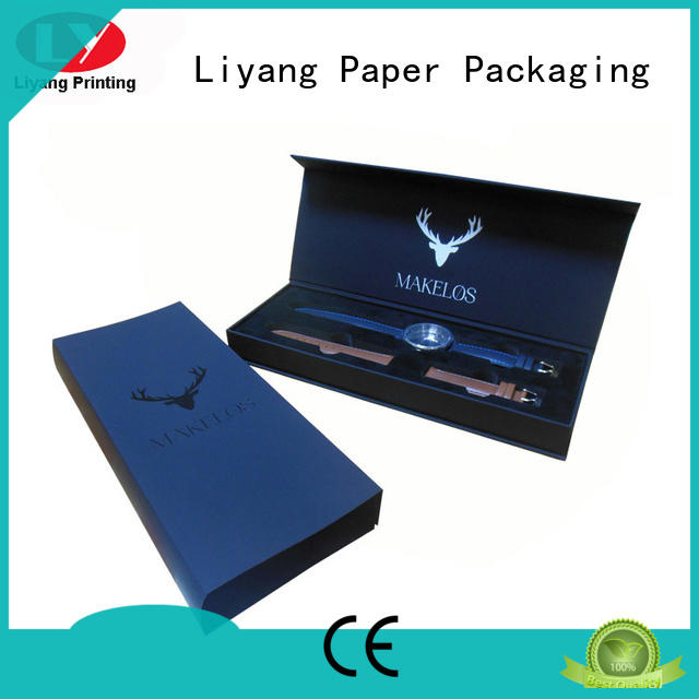 paper custom paper jewelry boxes cardboard for gift Liyang Paper Packaging