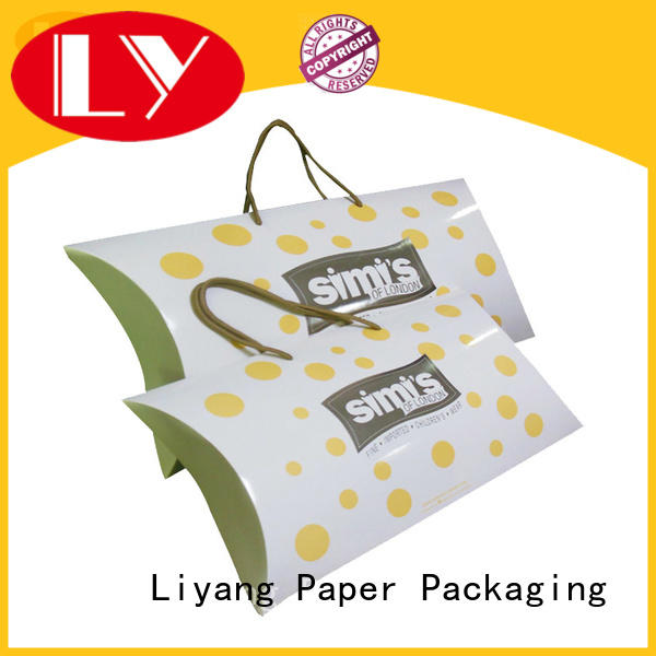 Liyang Paper Packaging blue custom clothing packaging pack for clothing