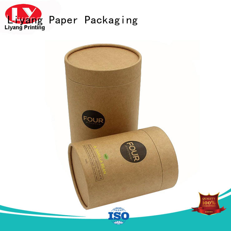 round paper box packaging logo luxury Liyang Paper Packaging Brand company