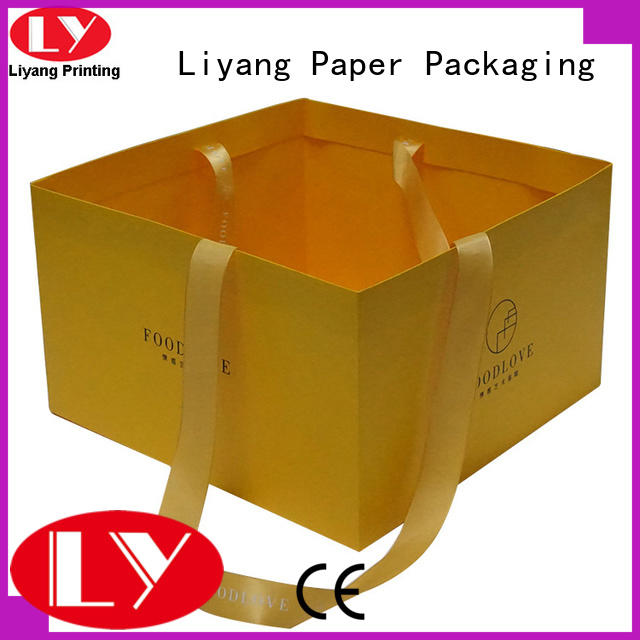 Liyang Paper Packaging renewable paper bags with handles high-grade for cake