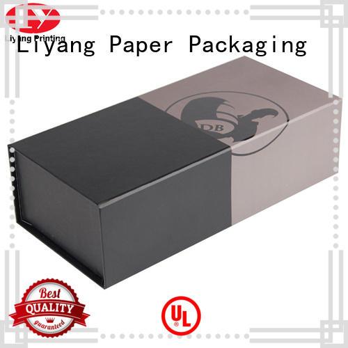 bottle paper wine box magnetic lid for shop