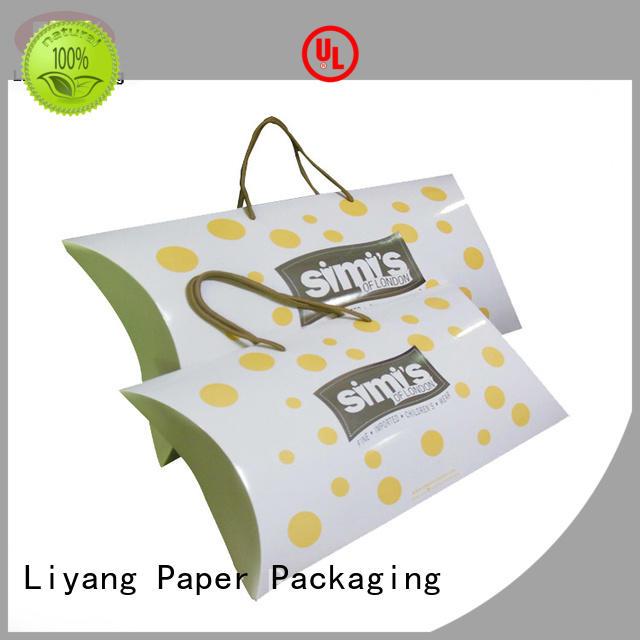 cardboard pillow Liyang Paper Packaging Brand clothing gift boxes