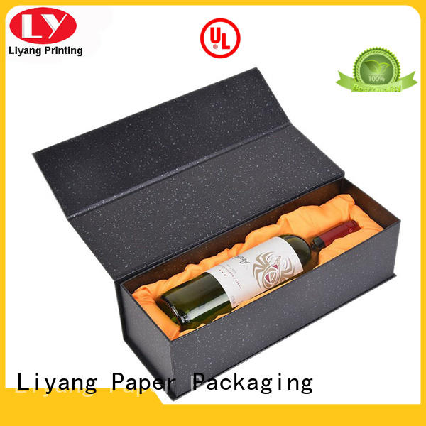 Liyang Paper Packaging satin wine gift box cardboard high quality for gift