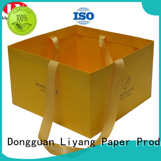 OEM paper gift bags high-grade for women Liyang Paper Packaging
