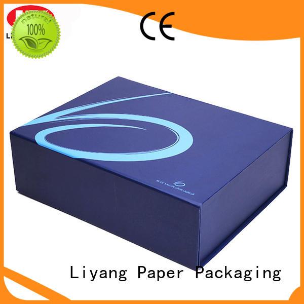 handle clothing packaging design custom brand for christmas Liyang Paper Packaging