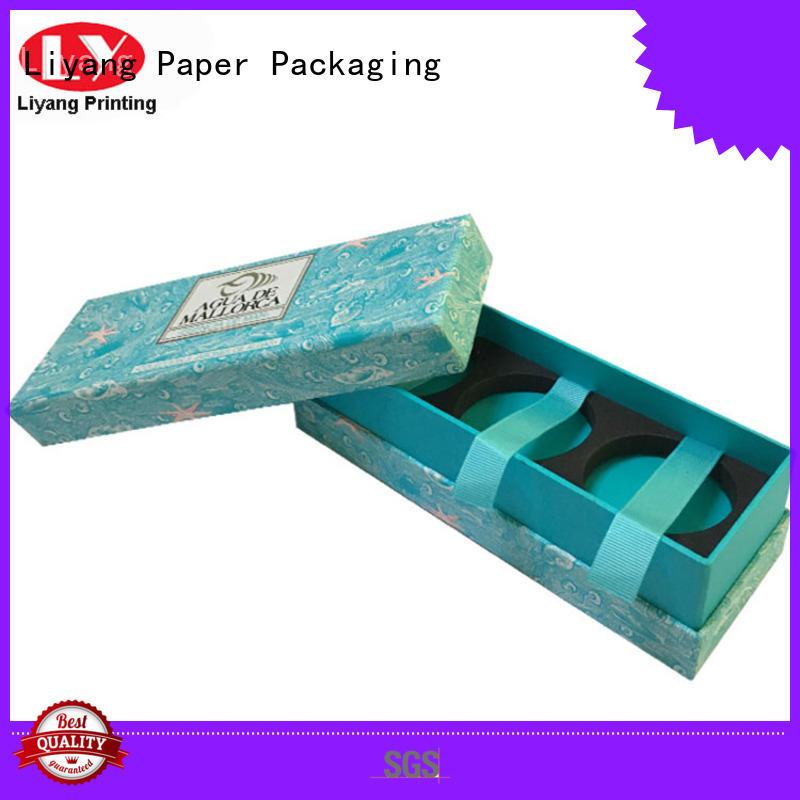 Liyang Paper Packaging Brand base drawer custom gift boxes corrugated factory