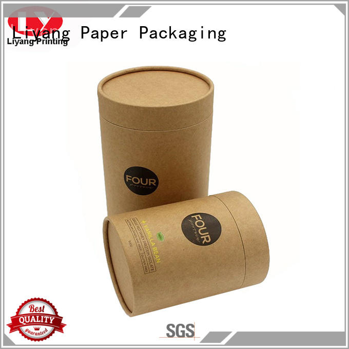 Liyang Paper Packaging high quality round cardboard boxes fast delivery for bracelet