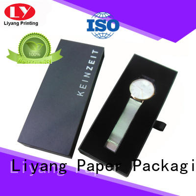 Liyang Paper Packaging Brand small watch custom jewelry gift boxes