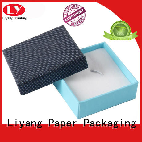 Liyang Paper Packaging custom paper jewelry boxes bulk production for necklace