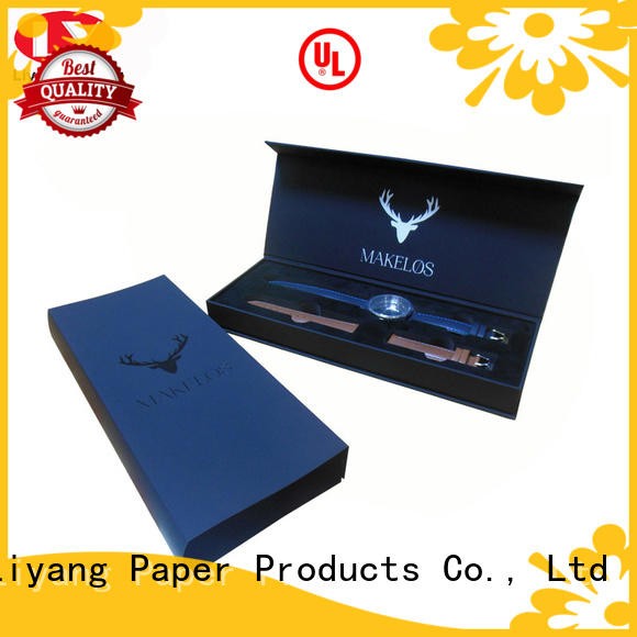 Liyang Paper Packaging recycled jewelry packaging boxes OEM for necklace