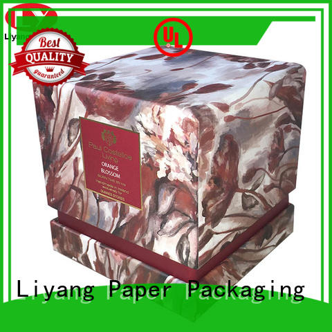 Liyang Paper Packaging paperboard candle box packaging fast delivery for restaurants