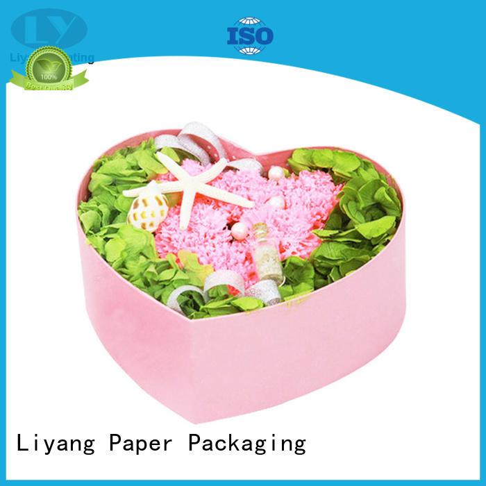 packaging flower gift box graphic artwork for gift