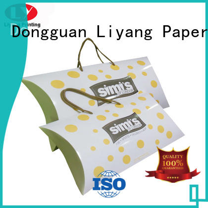 Liyang Paper Packaging Brand pillow clothing paper box gift supplier