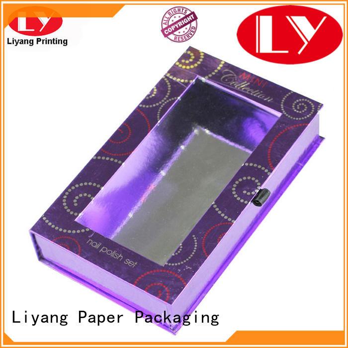 handle custom cosmetic boxes cardboard for lipstick Liyang Paper Packaging