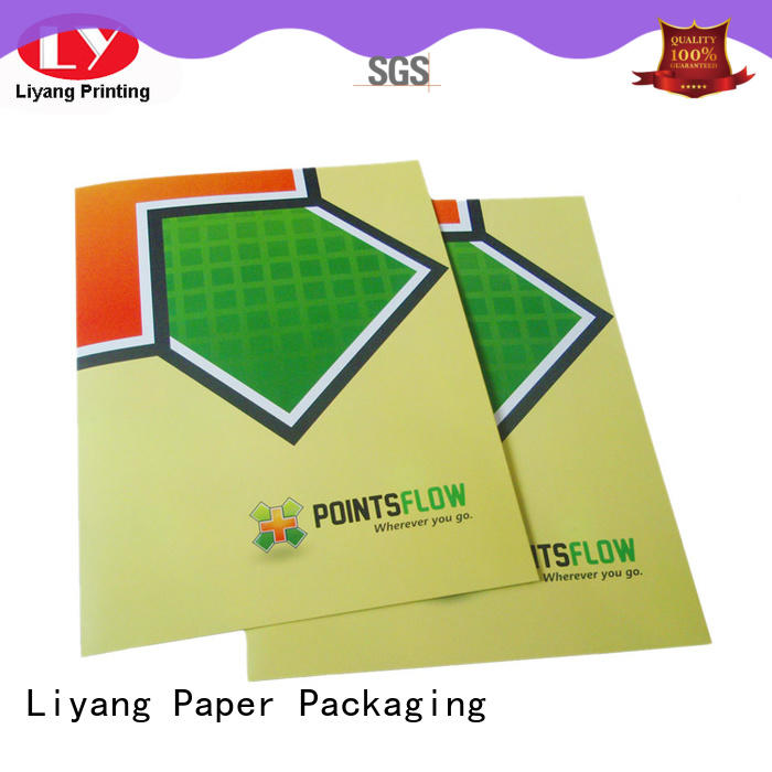OEM presentation folders printing for wholesale for packing