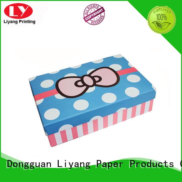 silver cardboard magnetic custom gift boxes mailer Liyang Paper Packaging