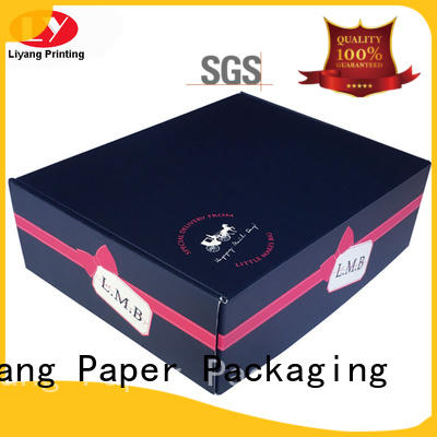 Liyang Paper Packaging luxury cardboard gift boxes bulk production for bakery