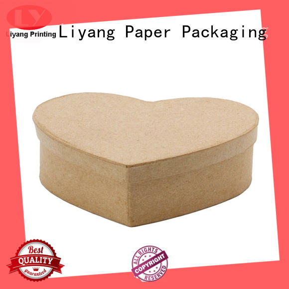 shaped heart paper Liyang Paper Packaging Brand special box design manufacture