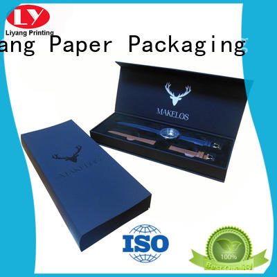 Wholesale leather jewelry gift boxes Liyang Paper Packaging Brand