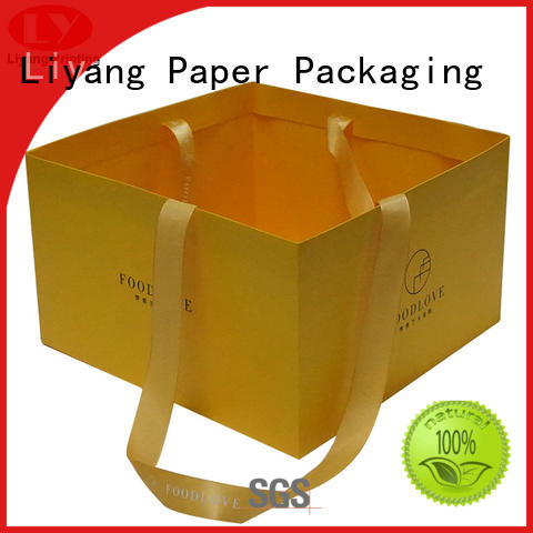 Liyang Paper Packaging ODM paper bags wholesale high-grade for cake