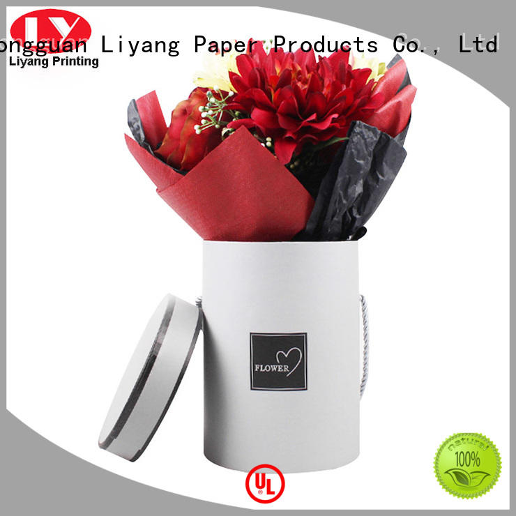 twist cardboard flower boxes distinctive designs for gift packing Liyang Paper Packaging