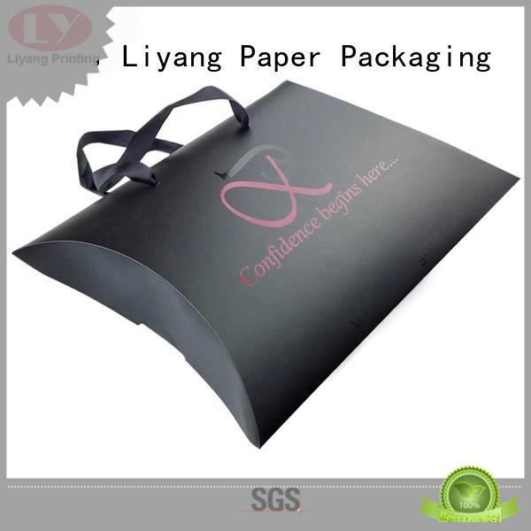 Hot square cosmetic gift packaging nail Liyang Paper Packaging Brand