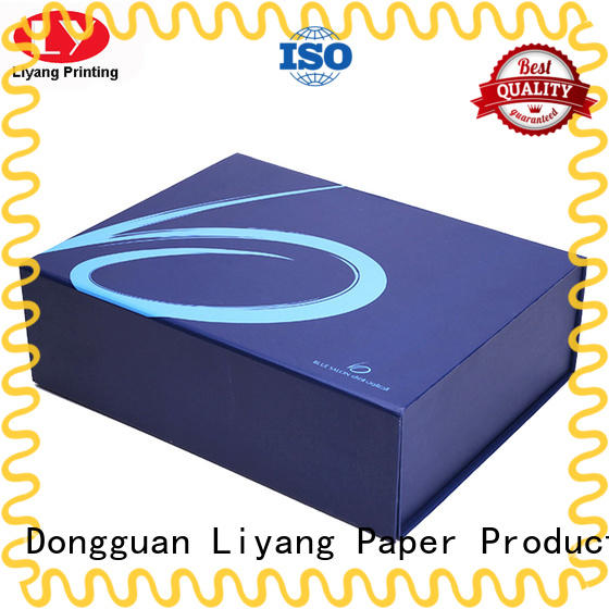 Liyang Paper Packaging tapes wholesale clothing boxes custom logo for wedding dress