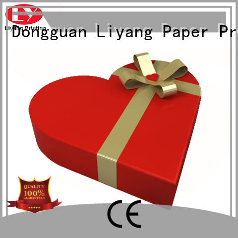 Liyang Paper Packaging shape box fast delivery for chocolate