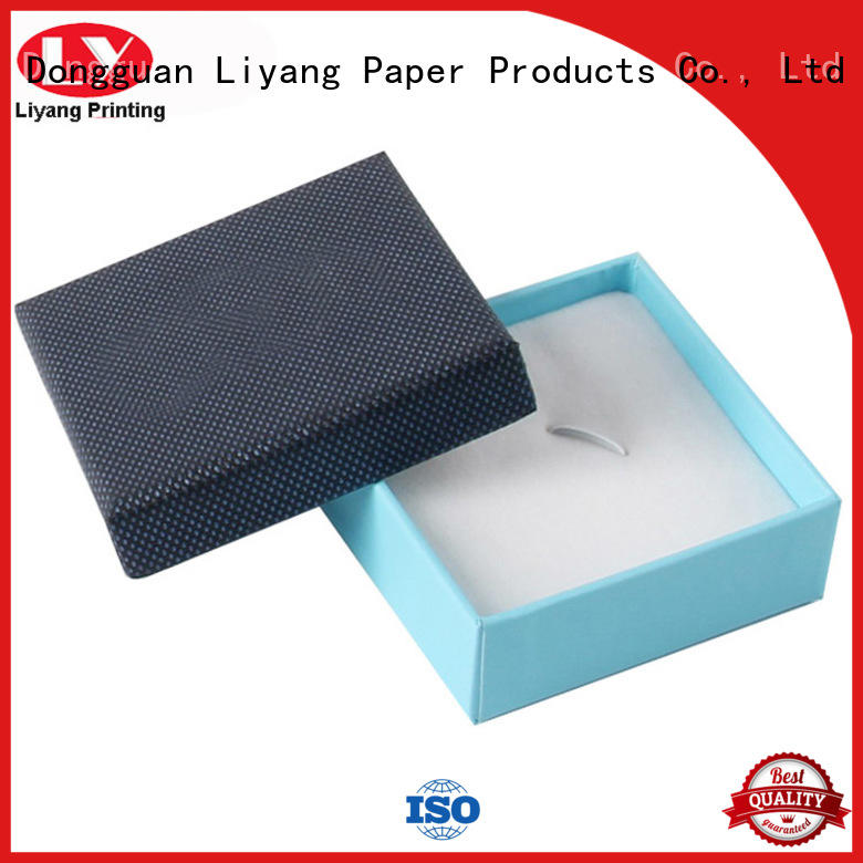 leather cardboard jewelry boxes free sample for necklace