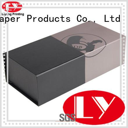 Liyang Paper Packaging OEM wine box packaging magnetic lid for shop