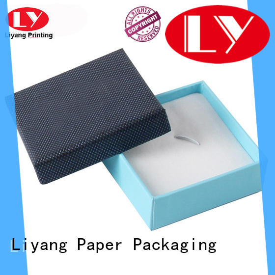 custom cardboard jewelry boxes paper for gift Liyang Paper Packaging