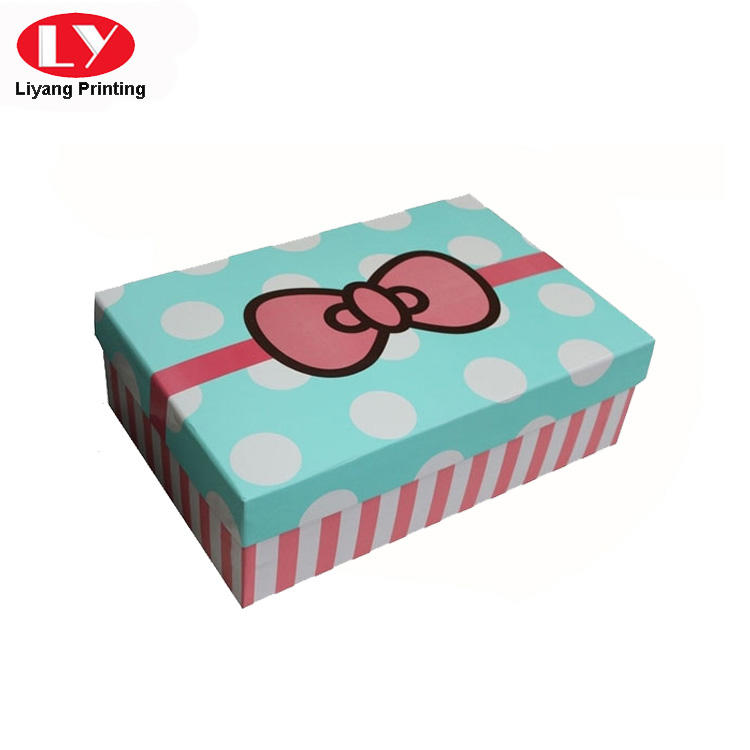 Liyang Paper Packaging colorful paper gift box popular for christmas-3