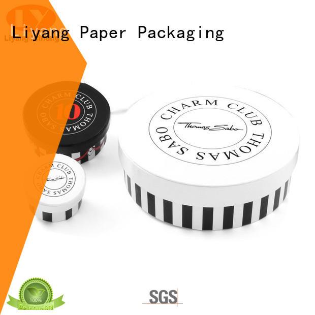 round cardboard boxes OEM for xmas Liyang Paper Packaging
