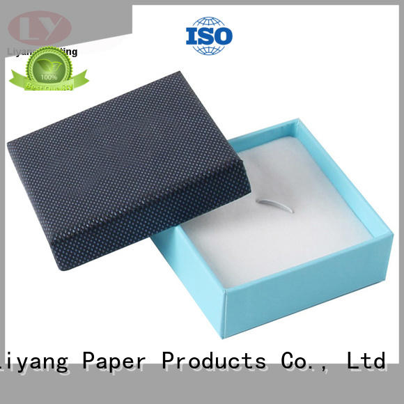 cardboard jewelry boxes wholesale paper for ring Liyang Paper Packaging