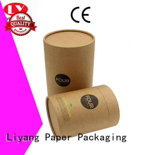 Liyang Paper Packaging luxury cylinder box all sizes for bracelet