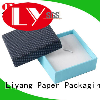 personalized paper jewelry box soft OEM for ring