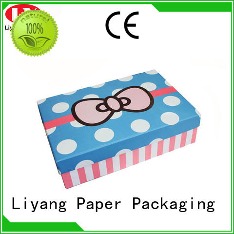 Liyang Paper Packaging foldable gift paper box price for chocolate