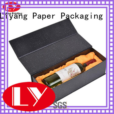 Liyang Paper Packaging luxury wine box packaging high quality for shop