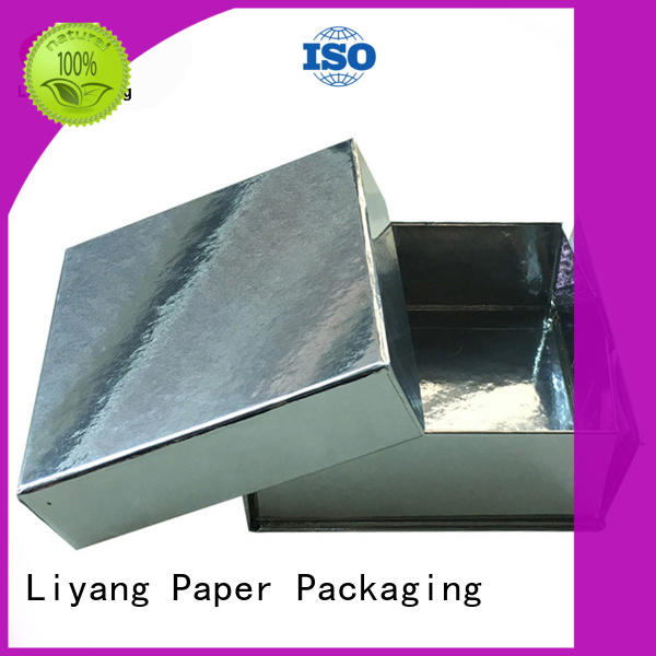 Liyang Paper Packaging corrugated custom gift boxes shipping for christmas