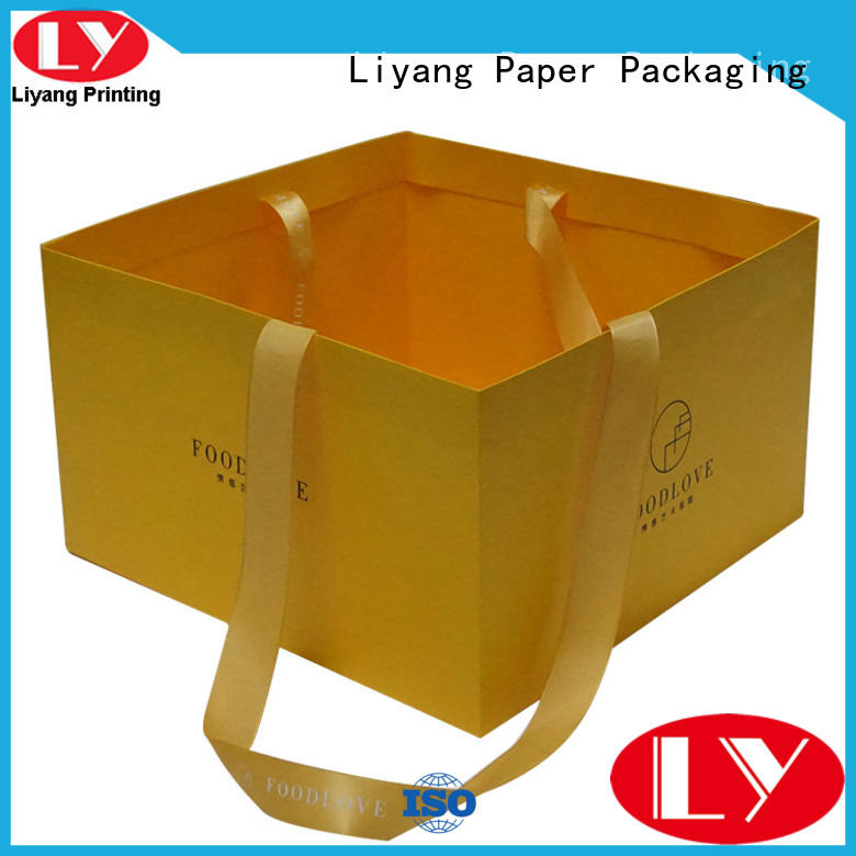 widely used paper gift bags full and bright for women Liyang Paper Packaging