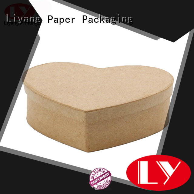 brown special box OEM for chocolate Liyang Paper Packaging