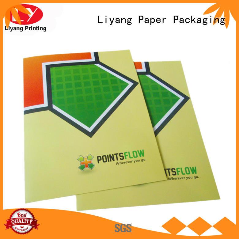 Liyang Paper Packaging printing presentation folders printing high quality for packing