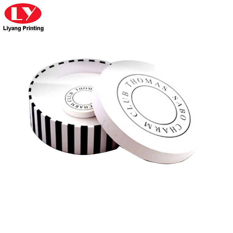 Liyang Paper Packaging custom design round box fast delivery for bracelet-2