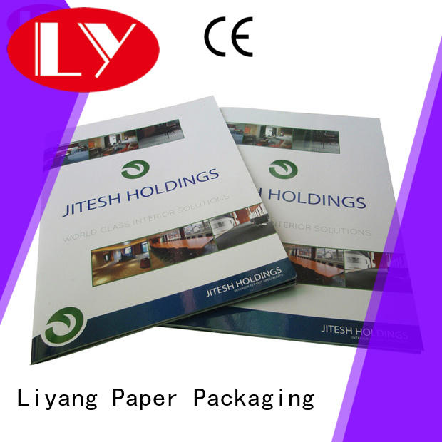 Liyang Paper Packaging ODM business folder printing for wholesale book production