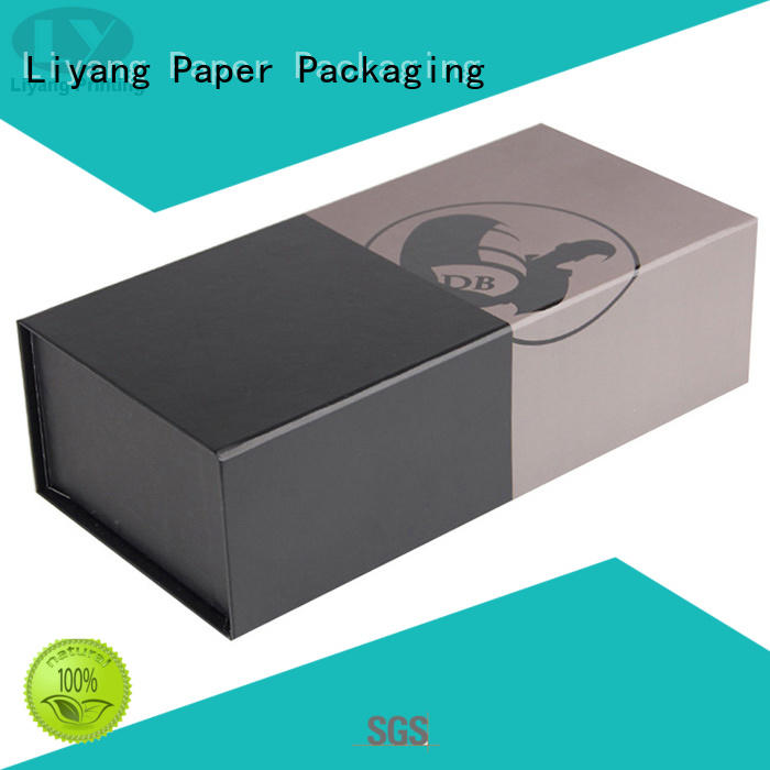 Liyang Paper Packaging foam wine box packaging silk printing for spirit