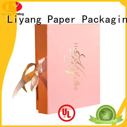large luxury cosmetic gift box Liyang Paper Packaging Brand